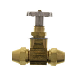 "1/2"" ODF Fusible Inline Valve w/ Flare Nuts Product Image"