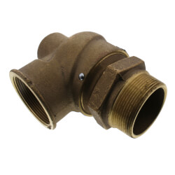 "3"" MNPT x 3"" FNPT RVS12 4,100 LBS/HR Low Pressure Relief Valve (15 psi) Product Image"