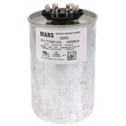 50/12.5 MFD Round<br>Run Capacitor (440V) Product Image