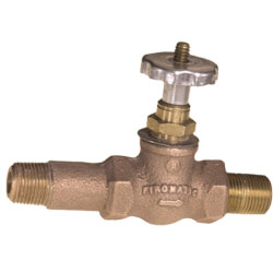 "3/8"" MPT (Inlet x Nipple Outlet) Fusible Tank Valve Product Image"