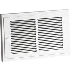 Model 124 White Register Wall Heater (750/1500W, 120V) Product Image