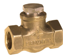 "1/2"" FPT Inline Check Valve Product Image"