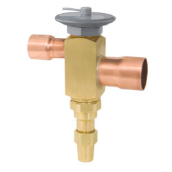 """OSE-21-C 7/8"""" x 1-1/8"""" ODF Thermal Expansion Valve w/ 60"""" Capillary (21 Ton) Product Image"""
