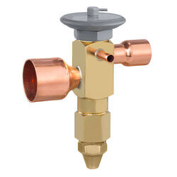 "OSE-9-C 7/8"" x 1-1/8"" ODF Thermal Expansion Valve w/ 60"" Capillary (9 Ton) Product Image"