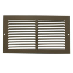 "12"" x 6"" Golden Sand Baseboard Return Air Grille (657 Series) Product Image"