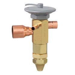"SSE-7-C 5/8"" x 7/8"" ODF Thermal Expansion Valve w/ 60"" Capillary (7 Ton) Product Image"
