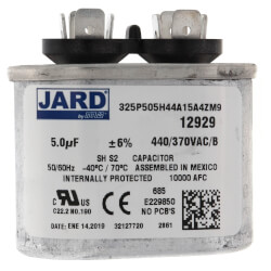 5 MFD Oval Run<br>Capacitor (440V) Product Image