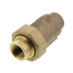 "1/2"" x 1/2"" Wilkins 700XL Dual Check Valve, Union FNPT x FNPT  (Lead Free) Product Image"
