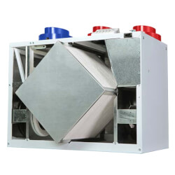 130 ERVD Residential Energy Recovery Ventilator, Recirculating Defrost, 137 CFM Product Image