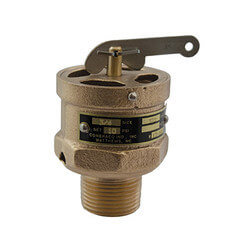 "3/4"" MNPT x Top RVS13 410 LBS/HR Low Pressure Steam Safety Relief Valve (15 psi) Product Image"