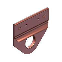 """3/4"""" Copper Clip for Hyco Bar Product Image"""