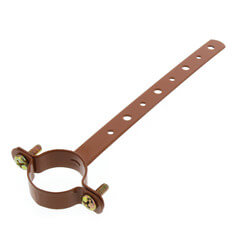"""1"""" x 6"""" Copper Epoxy Coated Milford Hanger Product Image"""