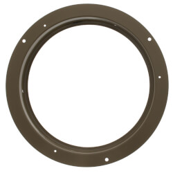 "10"" (Wall Opening Size) Golden Sand Steel Air Duct Ring (11 Series) Product Image"