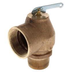"""1-1/4"""" MNPT x 1-1/2"""" FNPT RVS13 1200 LBS/HR Low Press Steam Safety Relief Valve (5 psi) Product Image"""