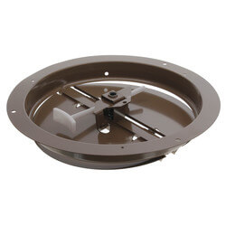 "8"" Steel Butterfly Damper with Ring Product Image"