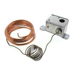 Electric Low Temp Detection Thermostat w/ Manual Reset, 35/45F, SPDT Product Image