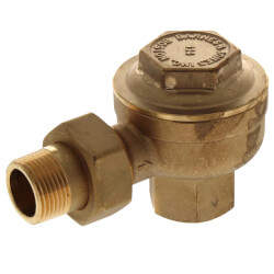 "3/4"" NPT Angle Radiator Steam Trap Product Image"