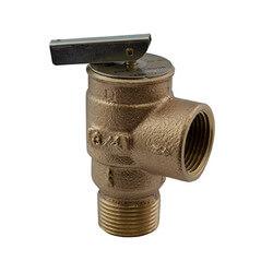 "3/4"" MNPT x 3/4"" FNPT RVS13 407 LBS/HR Low Pressure Steam Safety Relief Valve (10 psi) Product Image"