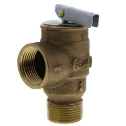 "3/4"" MNPT x 3/4"" FNPT RVS13 407 LBS/HR Low Pressure Steam Safety Valve (15 psi) Product Image"