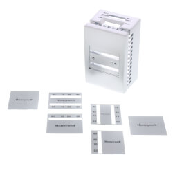 Pneumatic Thermostat Cover Kit (Satin Chrome) Product Image