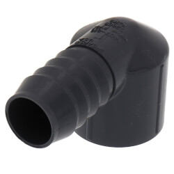 "1"" 90° PVC Insert Elbow (Insert x FIPT) Product Image"