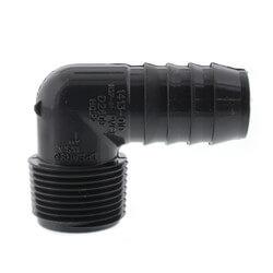 "1"" 90° PVC Insert Elbow (Insert x MIPT) Product Image"