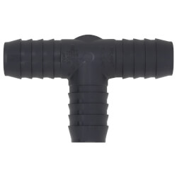 "1"" x 1/2"" PVC Barbed Insert Reducing Side Outlet Tee (Insert x FIPT) Product Image"