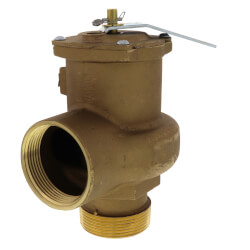 "2-1/2"" MNPT x 2-1/2"" FNPT RVS14 4676 BTU High Capacity Low Pressure Safety Valve (15 psi) Product Image"