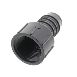 "1"" PVC Barbed Insert Female Adapter (FIPT x Insert) Product Image"