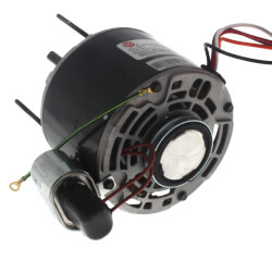 """5"""" Shaded Pole, Resilient Base 21/29 Frame Replacement Motor (115/230V, 1/10 HP 1550 RPM) Product Image"""