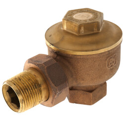 "1"" NPT Angle Radiator Steam Trap Product Image"