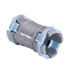 """1/2"""" PVC ENT Coupling, Sch. 40 Product Image"""