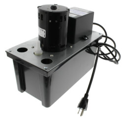 VCL-24ULS, 270 GPH Auto Condensate Removal Pump w/ Switch & Tubing Product Image
