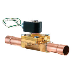 """7/8"""" ODF Normally Closed Secondary Coolant Valve (5 Cv) Product Image"""