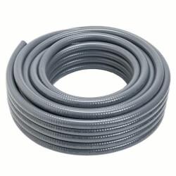 "1/2"" Carflex Gray Liquidtight Flexible Non-Metallic Conduit (100 Foot Coil) Product Image"