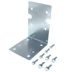 """1"""" and 1-1/2"""" Inlet/Outlet Heavy-Duty Housings Mounting Bracket Kit Product Image"""