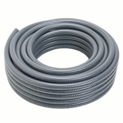 "1"" Carflex Gray Liquidtight Flexible Non-Metallic Conduit (100 Foot Coil) Product Image"