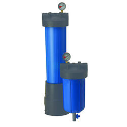"PBH-420-1.5, 20"" Bag Vessel with 1-1/2"" Inlet/Outlet Product Image"