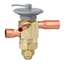 "RCZE-6-GA 1/2"" x 5/8"" ODF Thermal Expansion Valve w/ 30"" Capillary (6 Ton) Product Image"