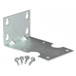 "WMB38, L-Shaped Mounting Bracket Kit<br>for 3/8"" Housings Product Image"