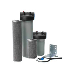 """1"""" High-Flow Carbon Block FloPlus System (0.5 Microns) Product Image"""