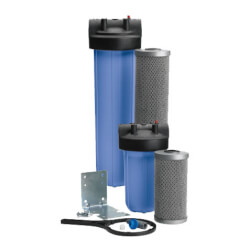 """FloPlus FPS-20BB 1-1/2"""" Whole House Heavy Duty Filtration Systen (0.5 Microns) Product Image"""