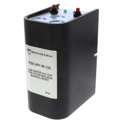 PSE-801-M-120, Electronic 120V LWCO<br>w/ manual reset (Steam) Product Image