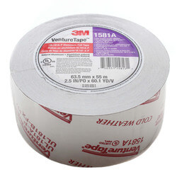 "UL181A-P Foil Duct Closure Tape (2.5"" x 180') Product Image"