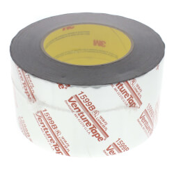 "UL181B-FX Printed Flexible Duct Closure Tape - Silver (3"" x 360') Product Image"