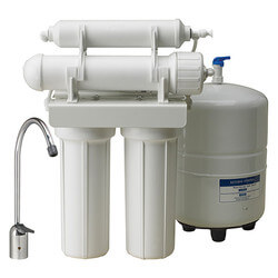 WRO-2550, 4-Stage Reverse Osmosis Drinking Water Filtration System Product Image