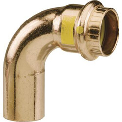 """1/2"""" ProPressG 90° Copper Street Elbow Product Image"""