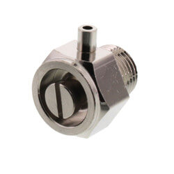 """1/8"""" Stubby Air Valve (Nickel Plated) Product Image"""