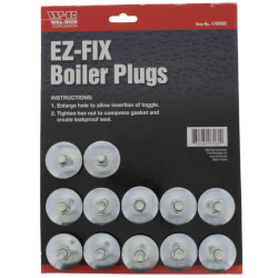 E-Z Fix Boiler Plug<br>(Pack of 12) Product Image