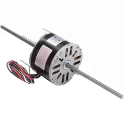"5-5/8"" Double Shaft Fan/Blower Motor<br>(115V, 1075 RPM, 1/6 HP) Product Image"
